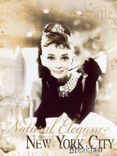 Audrey Hepburn Breakfast at Tiffanys New York