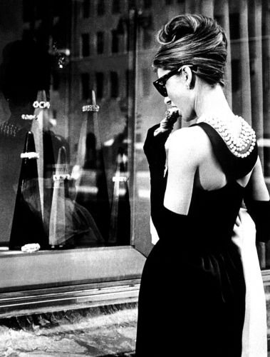 Audrey Hepburn Breakfast at Tiffanys mirror