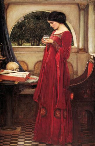 Crystal Ball John William Waterhouse