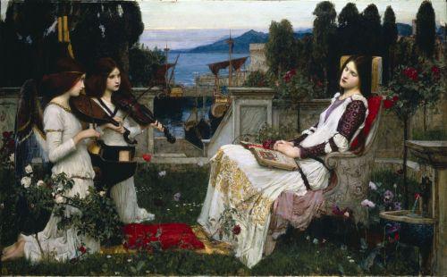 Saint Cecilia John William Waterhouse  1895