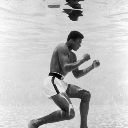 muhammad ali training underwater