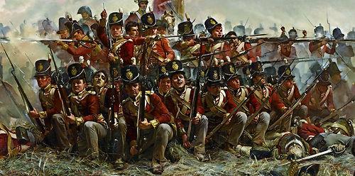 British Army Battle of Quatre Bras 1815