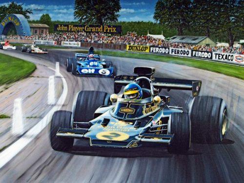 Ronnie Peterson JPS Lotus 72