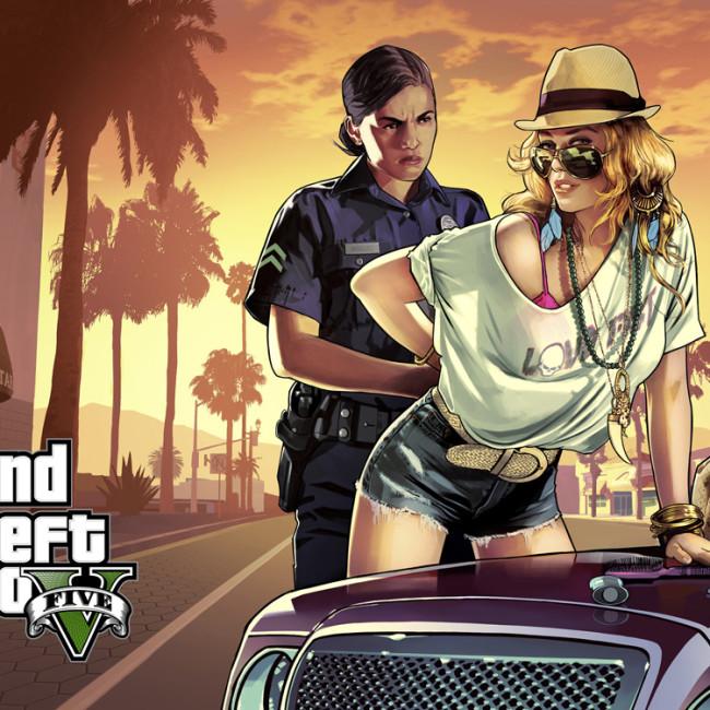 GTA V COP  GIRL