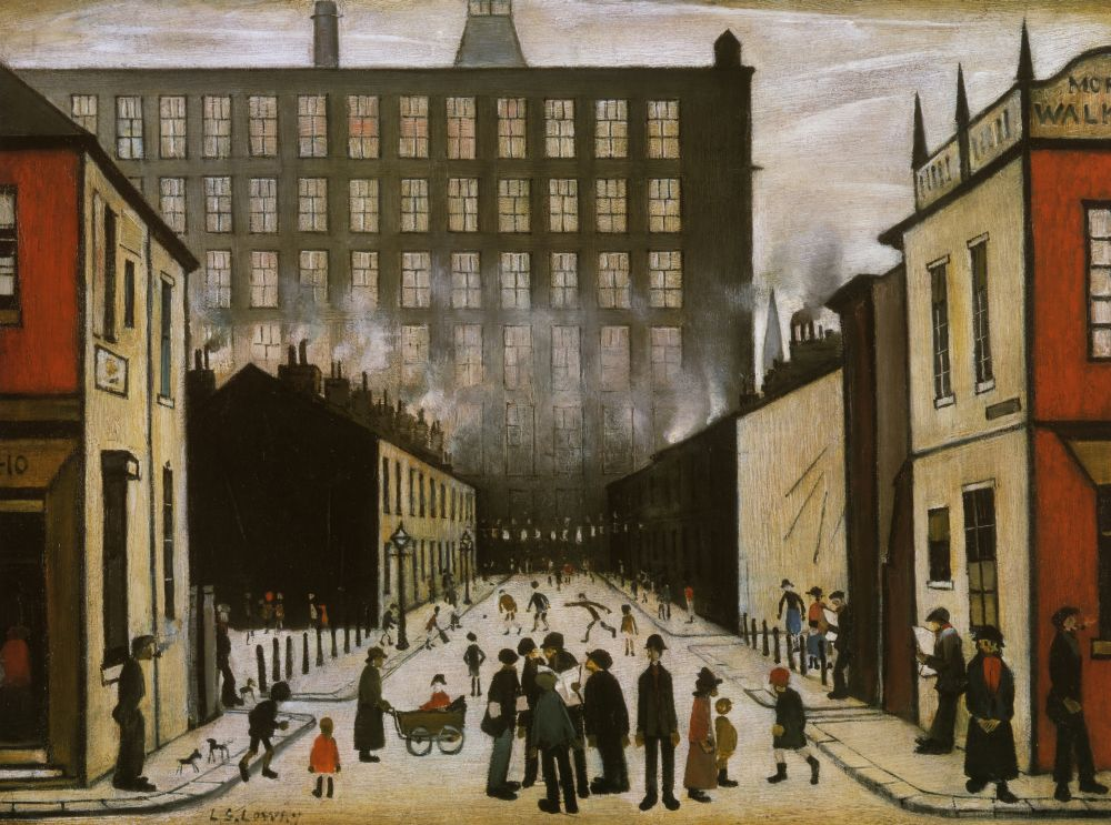 Lowry Canvas, Lowry Canvas prints, Lowry Canvas pictures, Lowry Canvas art, Lowry poster, LS Lowry Canvas, Lowry Canvas UK, LS Lowry Canvas prints