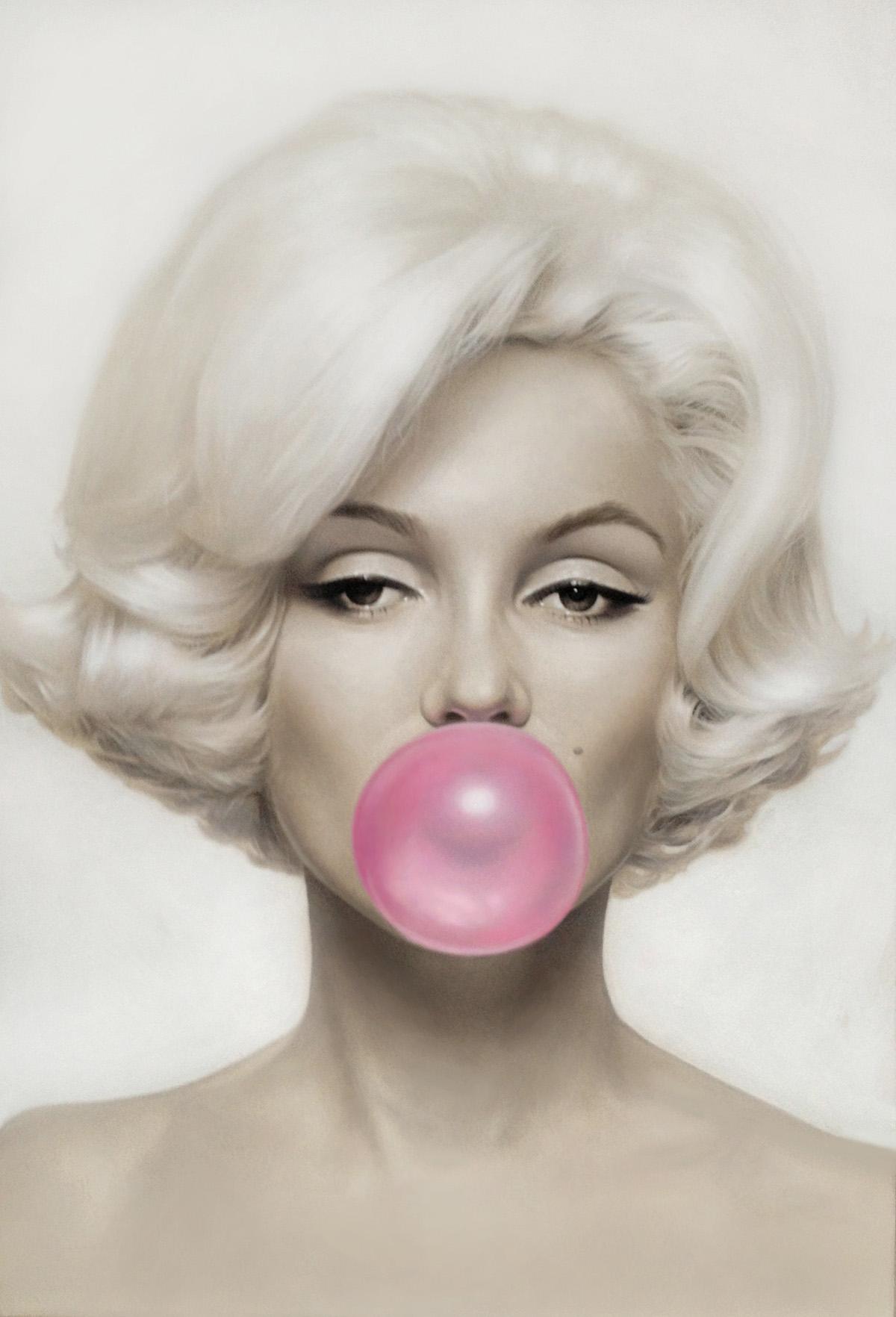 0c547c34f496 Marilyn Pink Bubblegum - The UK Art Depot Shop