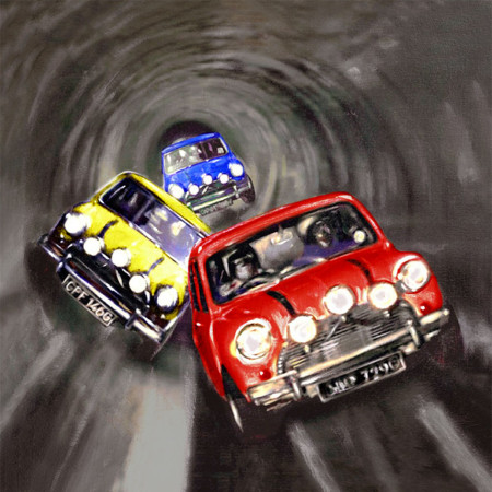Italian job, Italian job canvas, Italian job mini, Mini Poster, Mini Canvas, Italian Job Poster, mini canvas prints, mini canvas prints uk