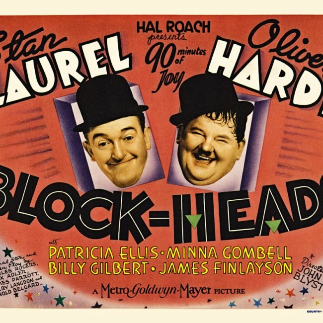 laurel and hardy – Block-Heads
