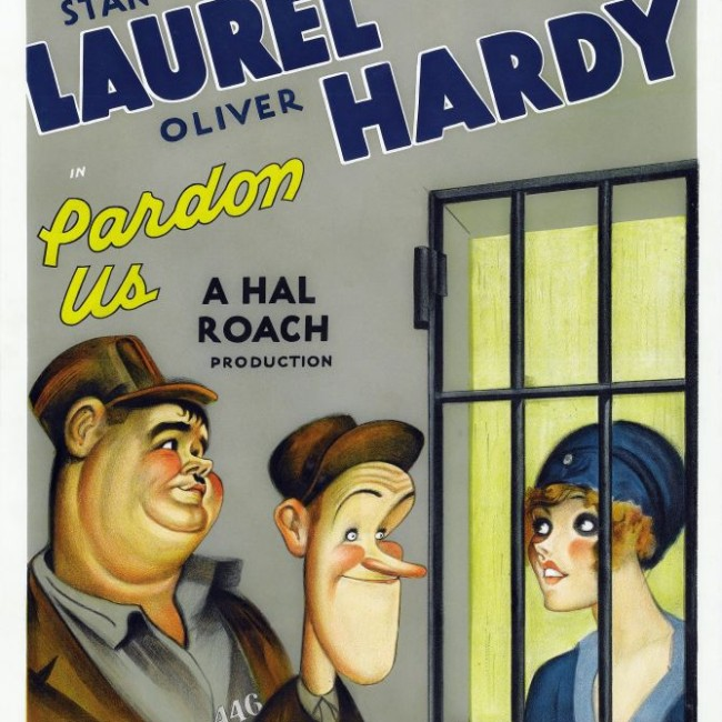 laurel and hardy Pardon-Us