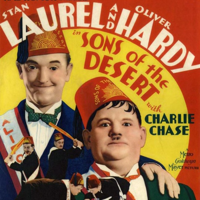 laurel and hardy SONS OF THE DESERT – Laurel and Hardy's classic film Poster 1933