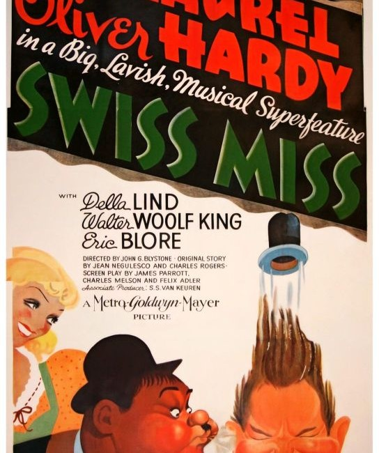 laurel and hardy SwissMiss