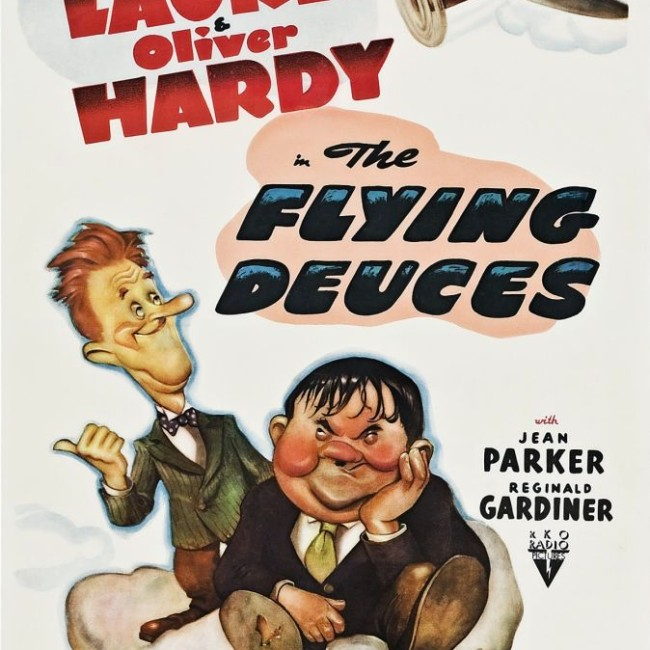 laurel and hardy the flying deuces