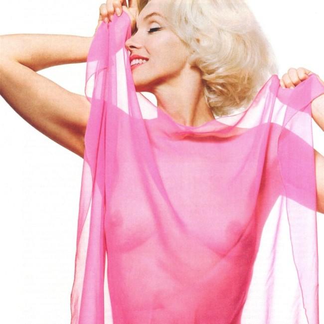 marilyn monroe fuschia pink veil