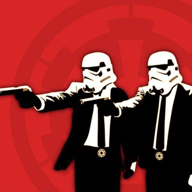 Storm Troopers Pulp Fiction
