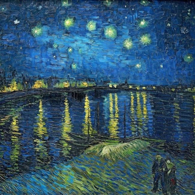 Starry Night Over The Rhone