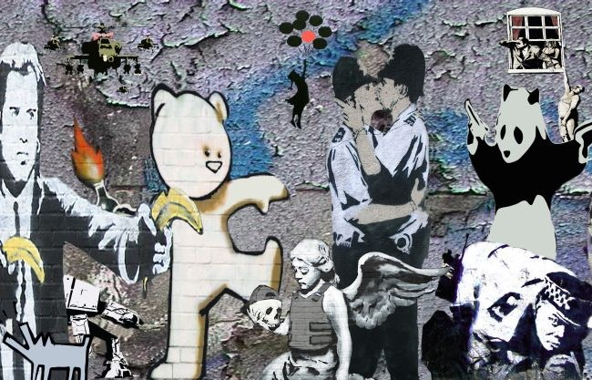 banksy montage2
