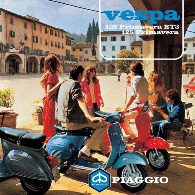 1981 Vespa Primavera Advert