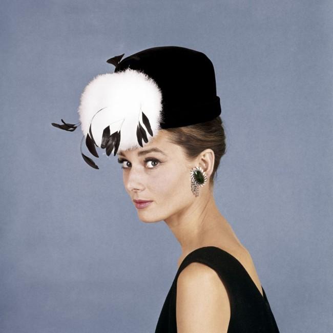 Audrey Hepburn in Hat