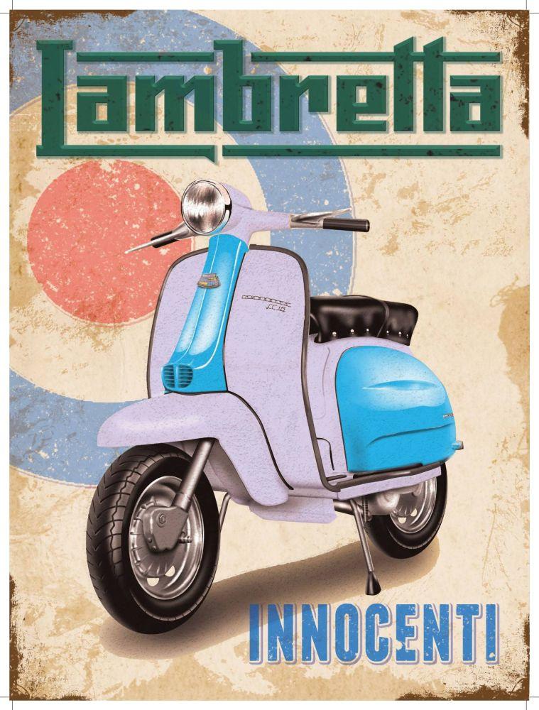 Lambretta Poster - The UK Art Depot Shop