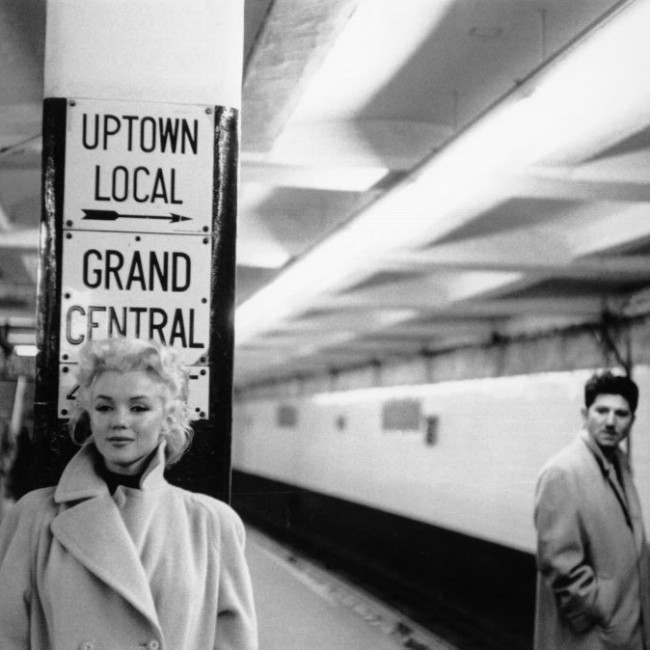 Marilyn Monroe Subway