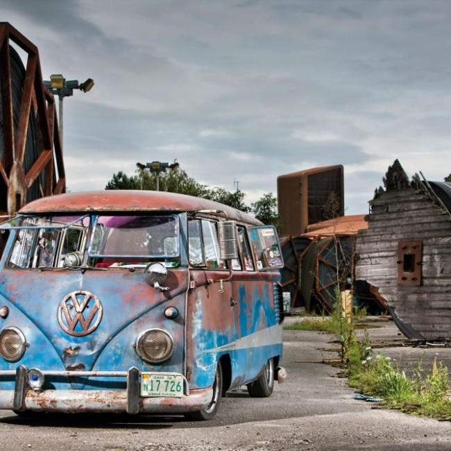 Scrapyard VW Camper