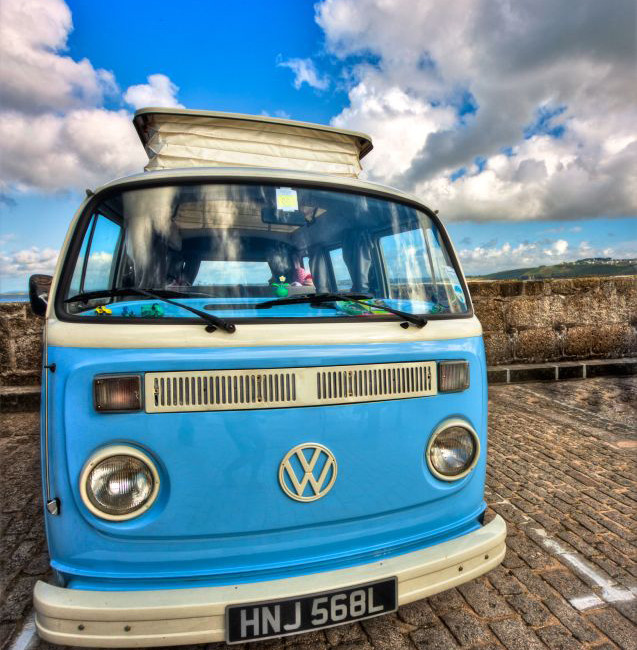 Blue Sky VW Camper