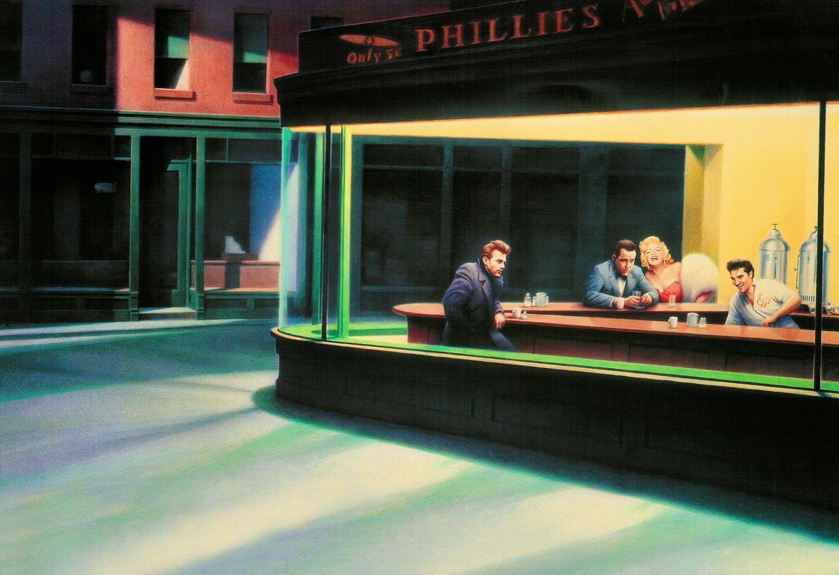 Boulevard of broken dreams painting parody