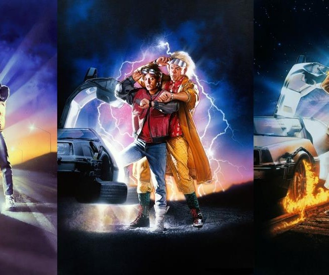 back to the future triptic